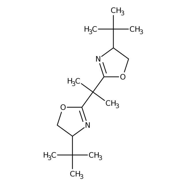 (S,S)-(-)-2,2′-Isopropylidenebis(4-tert-butyl-2-oxazoline) 97.0+%, TCI America™