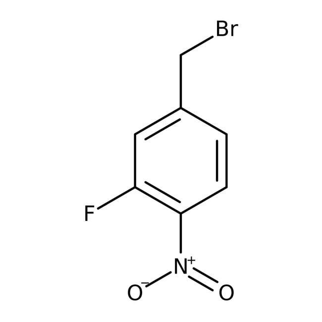 Alfa Aesar™3-Fluoro-4-nitrobenzyl bromide, 97%: Benzyl halides Benzene and substituted derivatives