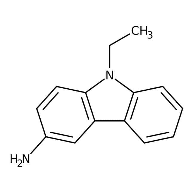 Alfa Aesar™3-Amino-9-ethylcarbazole, 95% 100g Alfa Aesar™3-Amino-9-ethylcarbazole, 95%