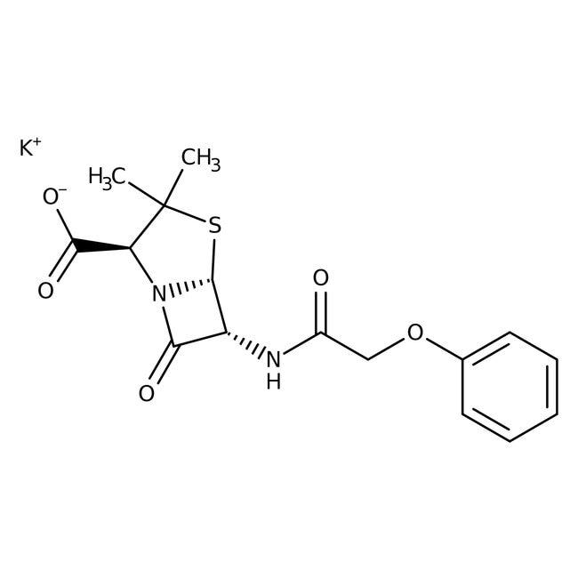 Alfa Aesar™Penicillin-V-Kaliumsalz 10g Alfa Aesar™Penicillin-V-Kaliumsalz