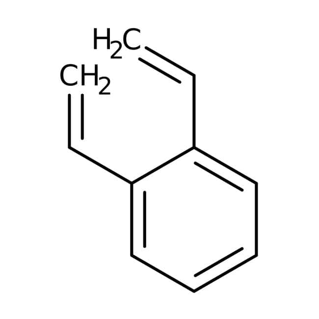 Alfa Aesar™Divinylbenzene, 80%, mixture of isomers, stab. with 1000ppm 4-tert-butylcatechol: Organic Building Blocks Chemicals