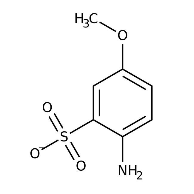 2-Amino-5-methoxybenzenesulfonic acid, 98%, ACROS Organics