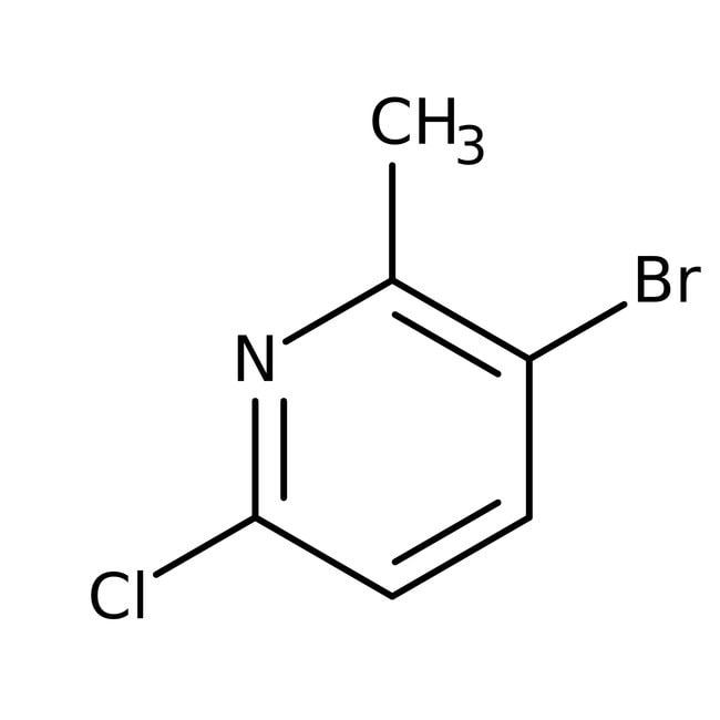 Alfa Aesar™5-Bromo-2-chloro-6-methylpyridine, 98% 5g Alfa Aesar™5-Bromo-2-chloro-6-methylpyridine, 98%