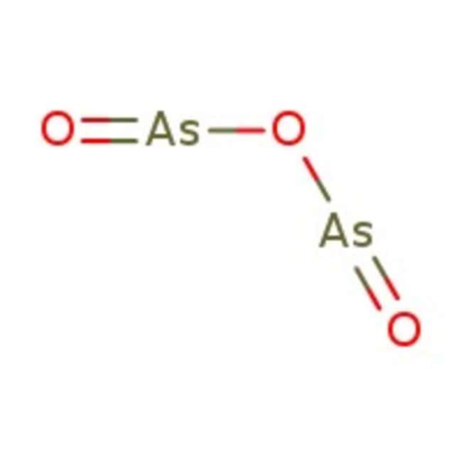 Arsenic(III) oxide, 99.5%, ACROS Organics