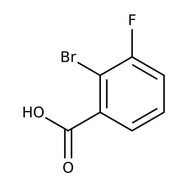 2-Bromo-3-fluorobenzoic acid, 98%, Acros Organics