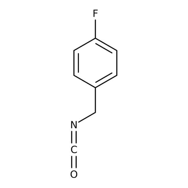 4-Fluorobenzyl isocyanate, 98%, ACROS Organics™