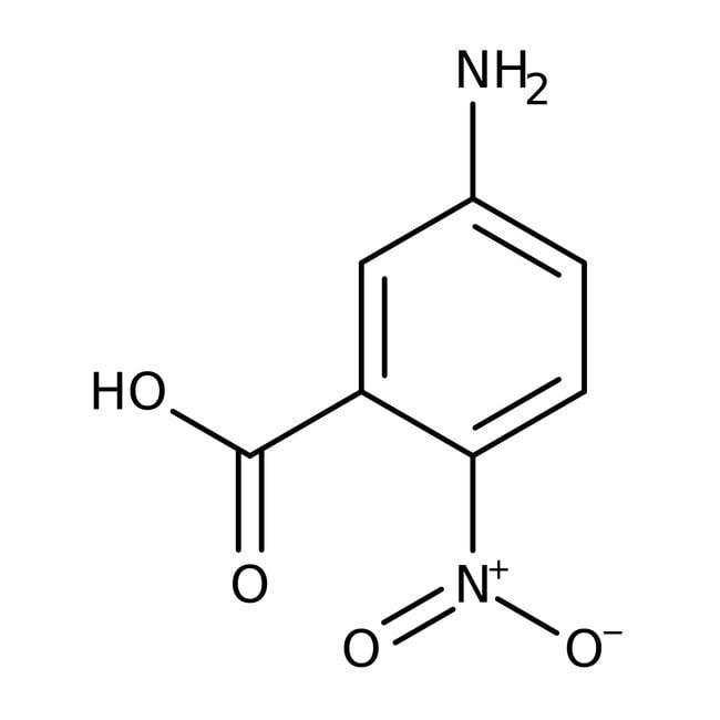 Alfa Aesar™5-Amino-2-nitrobenzoic acid, 95% 25g Alfa Aesar™5-Amino-2-nitrobenzoic acid, 95%