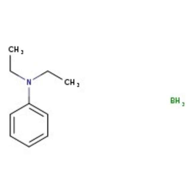 Borane-N,N-diethylaniline complex, 97%, ACROS Organics™ 250g; Glass bottle Borane-N,N-diethylaniline complex, 97%, ACROS Organics™