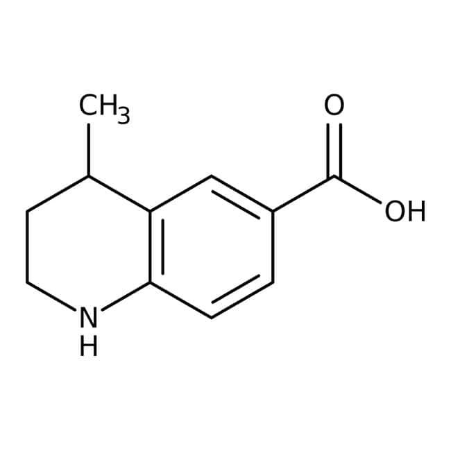 4-Methyl-1,2,3,4-tetrahydroquinoline-6-carboxylic acid, 95%, ACROS Organics™ 5g 4-Methyl-1,2,3,4-tetrahydroquinoline-6-carboxylic acid, 95%, ACROS Organics™