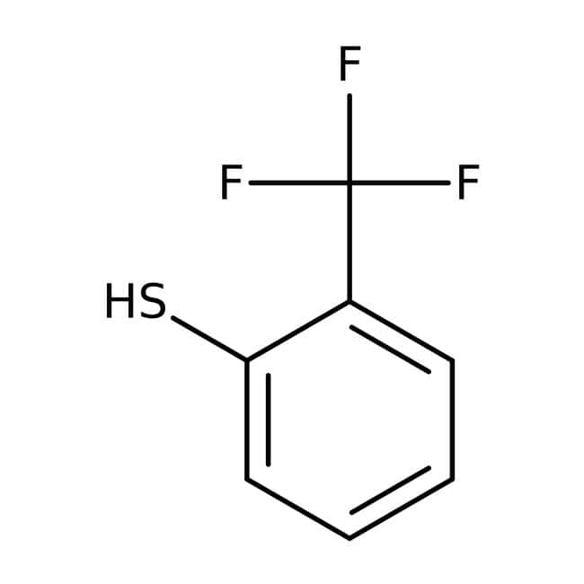 2-(Trifluoromethyl)benzenethiol, ≥95%, Maybridge™ Amber Glass Bottle; 1g 2-(Trifluoromethyl)benzenethiol, ≥95%, Maybridge™