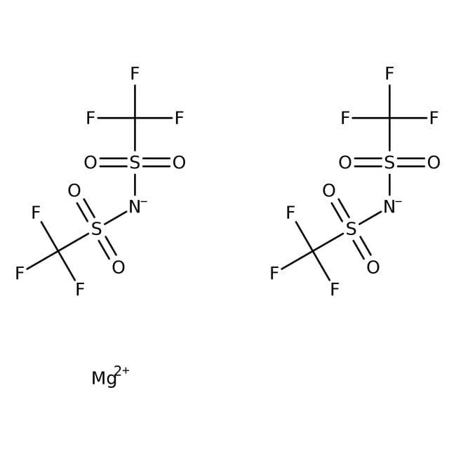 Alfa Aesar™Magnesium bis(trifluoromethylsulfonyl)imide 1g Alfa Aesar™Magnesium bis(trifluoromethylsulfonyl)imide
