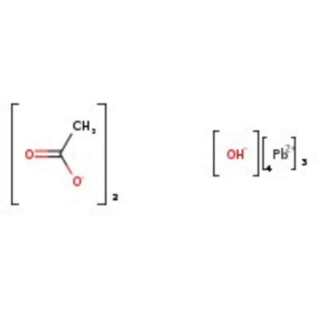 Alfa Aesar™Acetato de plomo (II), básico 500g Alfa Aesar™Acetato de plomo (II), básico