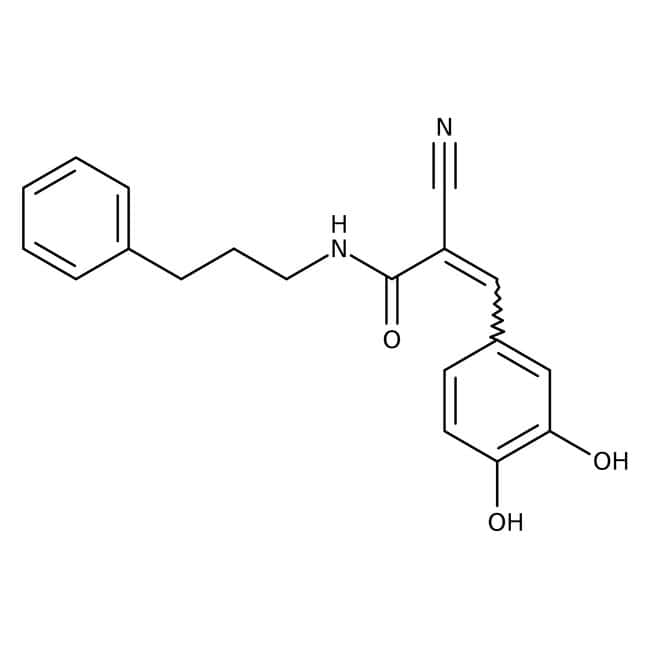 Alfa Aesar™Tyrphostine B46, 98+% 50mg Alfa Aesar™Tyrphostine B46, 98+%