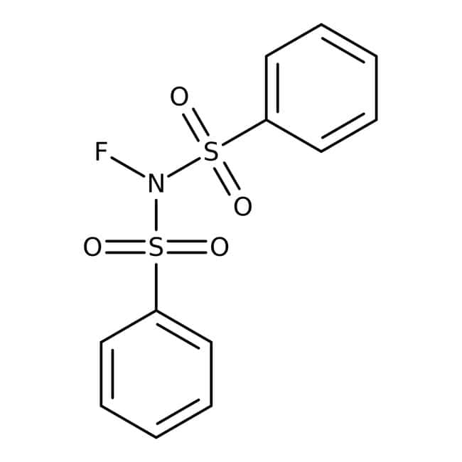N-Fluorobenzenesulfonimide, 97%, ACROS Organics™ 25g; Glass bottle N-Fluorobenzenesulfonimide, 97%, ACROS Organics™