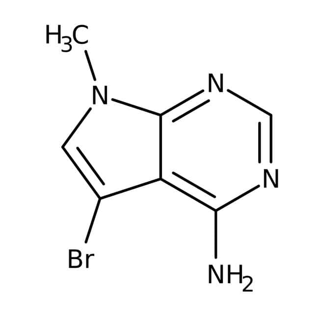 Alfa Aesar™6-Amino-7-brom-9-methyl-7-deazapurin, 97% 250mg Alfa Aesar™6-Amino-7-brom-9-methyl-7-deazapurin, 97%
