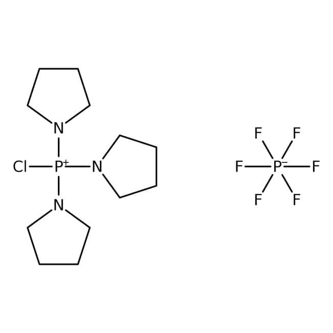 chlorotripyrrolidinophosphonium hexafluorophosphate, 98%, ACROS Organics™