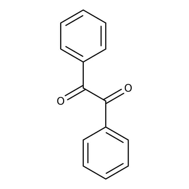 Benzil, 99+%, ACROS Organics™ 500g Benzil, 99+%, ACROS Organics™