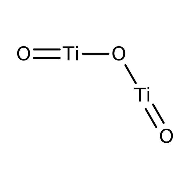 Alfa Aesar™Titanium(III) oxide, 99.8% (metals basis)