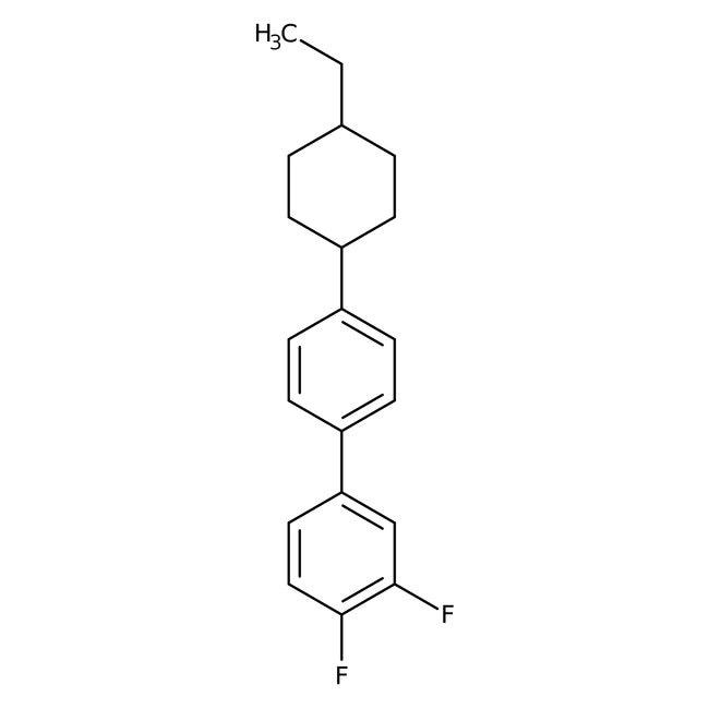 Alfa Aesar™3,4-Difluoro-4'-(4-ethylcyclohexyl)biphenyl, 97%