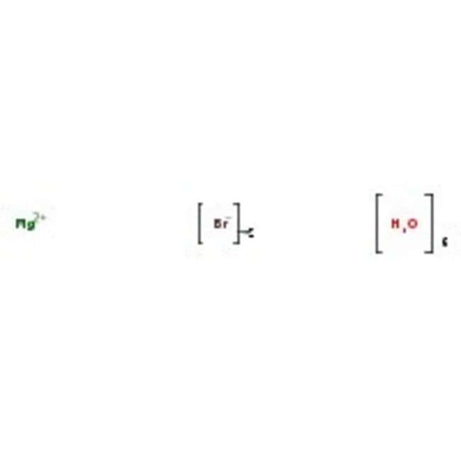 Magnesium bromide hexahydrate, 99+%, for analysis, ACROS Organics