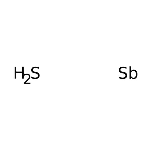Antimony Trisulfide, Black, Technical, Spectrum