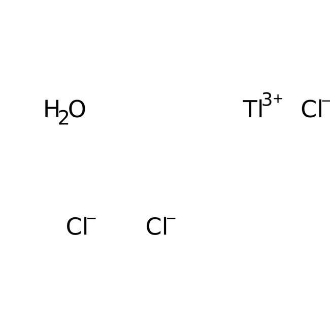 Alfa Aesar™Chlorure de thallium(III) hydraté 5g Alfa Aesar™Chlorure de thallium(III) hydraté