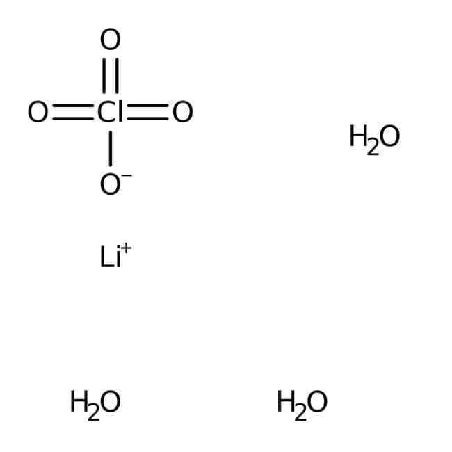 Lithium perchlorate trihydrate, 99%, extra pure, ACROS Organics™: Other Inorganic Compounds Chemicals