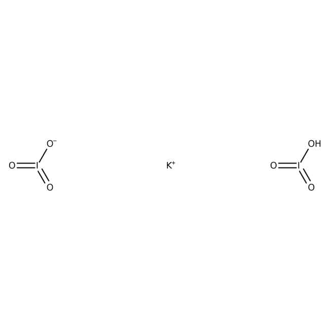 Potassium hydrogen diiodate, 99.85%, extra pure, ACROS Organics™: Other Inorganic Compounds Chemicals