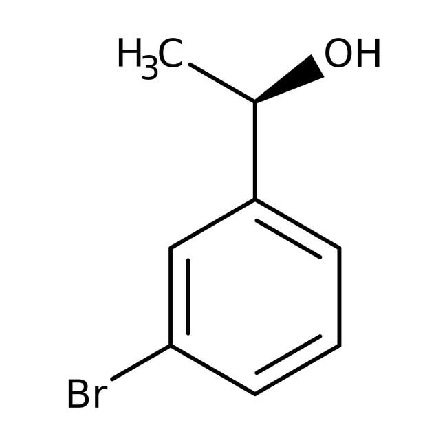 (R)-3-Bromo-alpha-methylbenzyl alcohol, 95%, 98% ee, Acros Organics