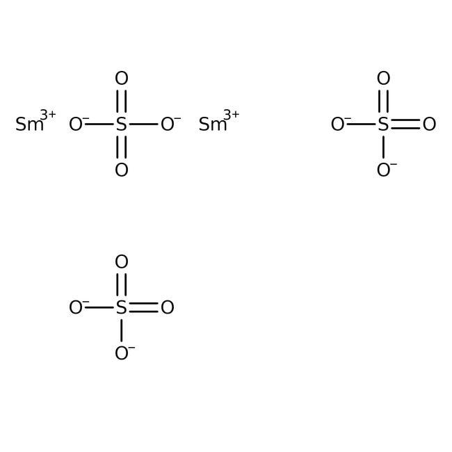 Alfa Aesar™Samarium(III) sulfate octahydrate, REacton™, 99.9% (REO)