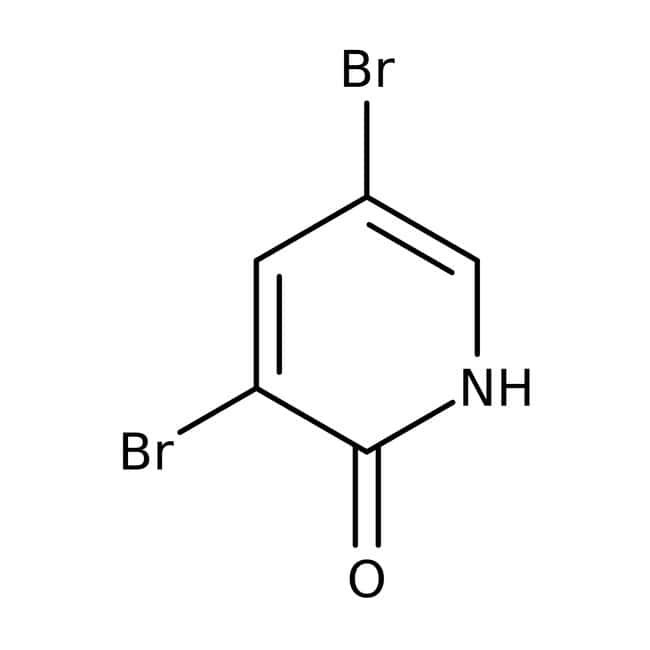 Alfa Aesar™3,5-Dibromo-2-hydroxypyridine, 97% 25g Alfa Aesar™3,5-Dibromo-2-hydroxypyridine, 97%