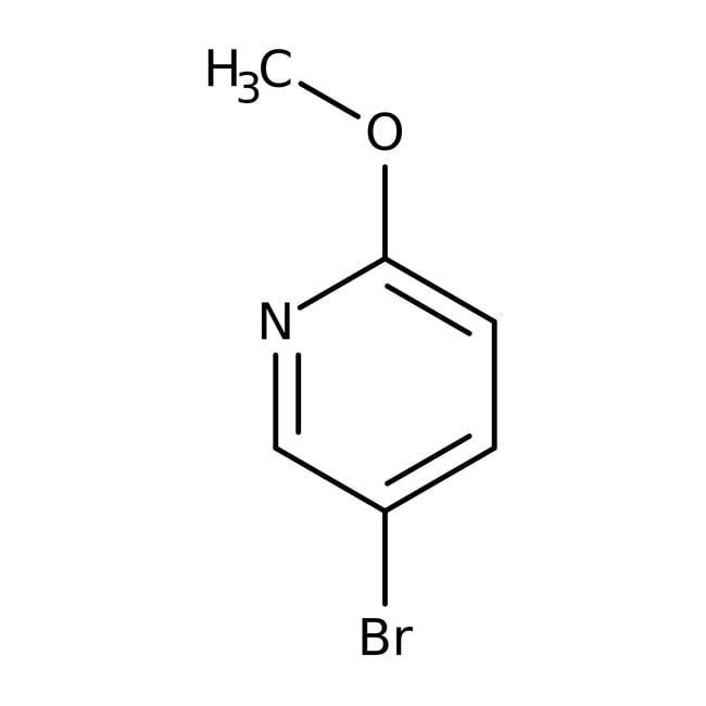 Alfa Aesar™5-bromo-2-méthoxypyridine, 98% 25g Alfa Aesar™5-bromo-2-méthoxypyridine, 98%