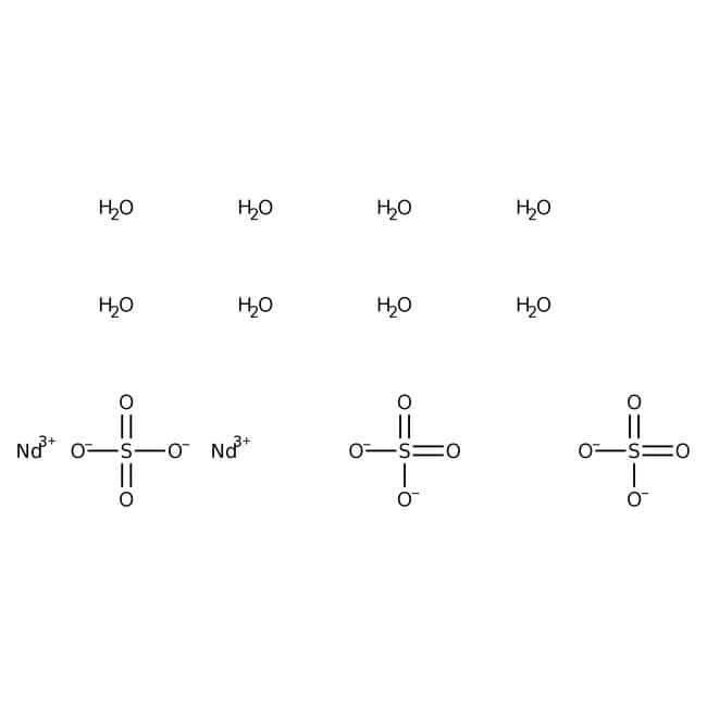 Neodymium(III) sulfate octahydrate, 99.9% (REO), Alfa Aesar™