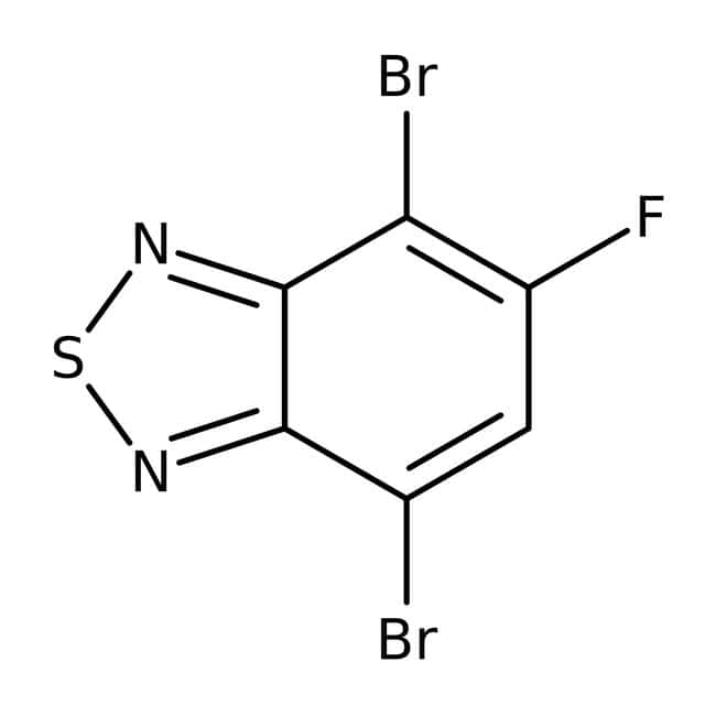 4,7-Dibromo-5-fluoro-2,1,3-benzothiadiazole 98.0 %, TCI America