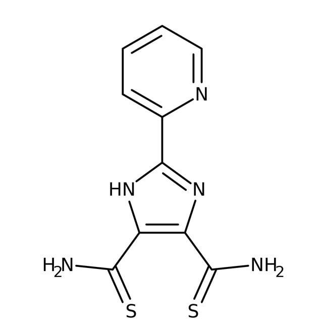 Alfa Aesar™2-(2-Pyridyl)imidazole-4,5-dithiocarboxamide, 97%