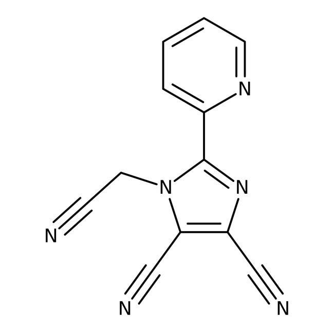 Alfa Aesar™1-Cyanomethyl-4,5-dicyano-2-(2-pyridyl)imidazole, 97%