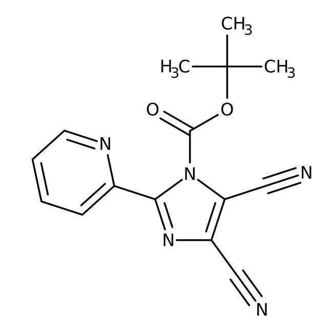 Alfa Aesar™1-Boc-4,5-dicyano-2-(2-pyridyl)imidazole, 97%