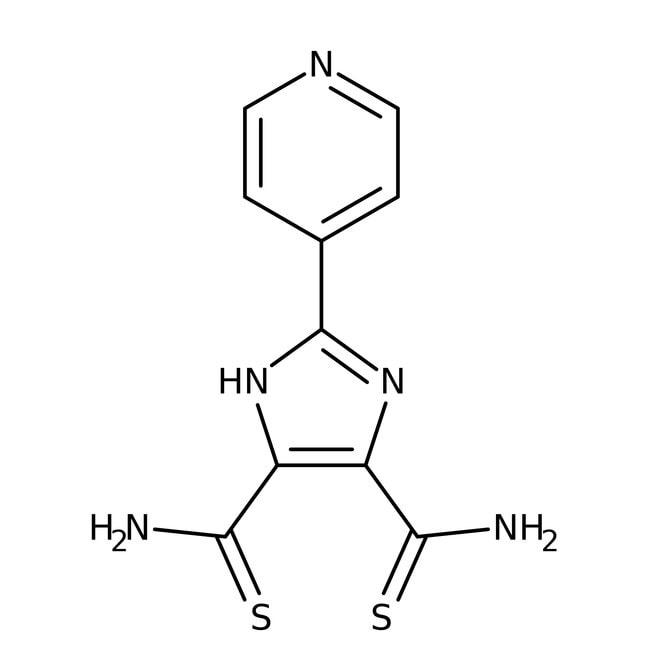Alfa Aesar™2-(4-Pyridyl)imidazole-4,5-dithiocarboxamide, 97%