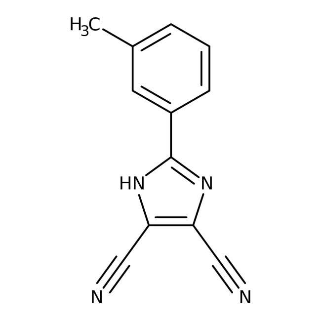 Alfa Aesar™4,5-Dicyano-2-(3-methylphenyl)imidazole, 97%
