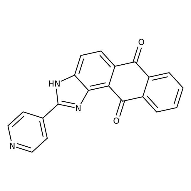 2-(4-Pyridyl)-1H-anthra[1,2-d]imidazole-6,11-dione, 97%, Alfa Aesar™