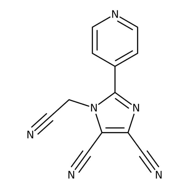 Alfa Aesar™1-Cyanomethyl-4,5-dicyano-2-(4-pyridyl)imidazole, 97%