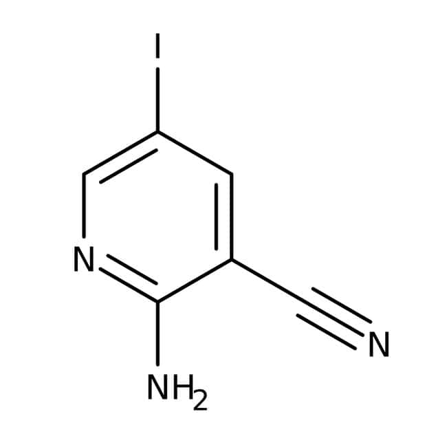 Alfa Aesar™2-Amino-3-cyano-5-iodopyridine, 97%