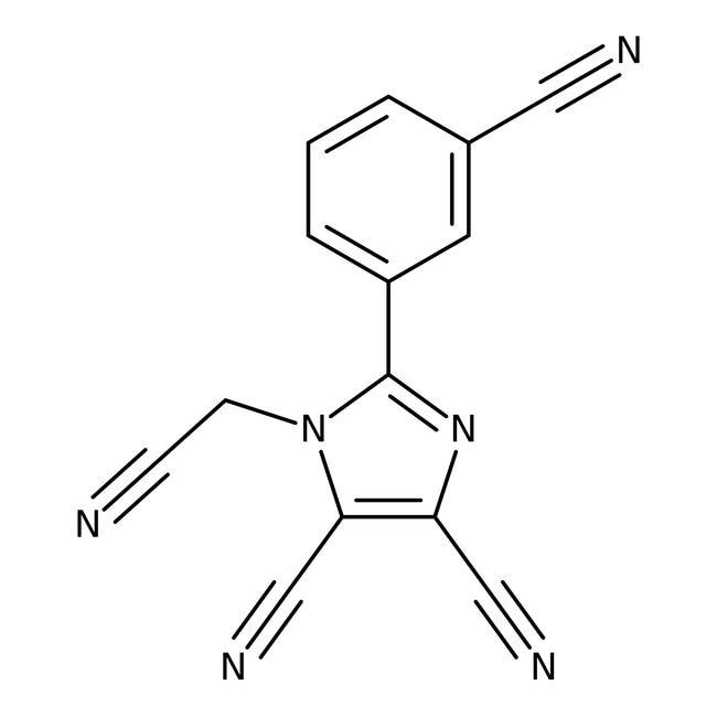 Alfa Aesar™1-Cyanomethyl-2-(3-cyanophenyl)-4,5-dicyanoimidazole, 97%