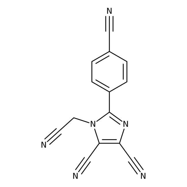 Alfa Aesar™1-Cyanomethyl-2-(4-cyanophenyl)-4,5-dicyanoimidazole, 97%