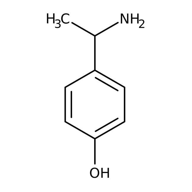 Alfa Aesar™(+/-)-4-(1-Aminoethyl)phenol, 97%