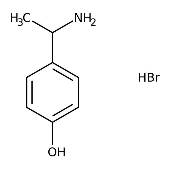 Alfa Aesar™(R)-4-(1-Aminoethyl)phenol, 97% 5g Alfa Aesar™(R)-4-(1-Aminoethyl)phenol, 97%