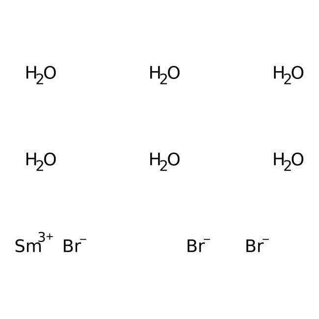 Alfa Aesar™Bromuro de samario(III) hexahidrato, 99,99% 10g Alfa Aesar™Bromuro de samario(III) hexahidrato, 99,99%