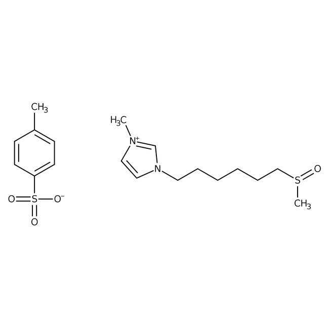 1-Methyl-3-[6-(methylsulfinyl)hexyl]imidazolium p-Toluenesulfonate 97.0+%, TCI America™