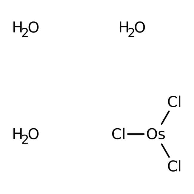 Alfa Aesar™Osmium(III) chloride trihydrate, Premion™, 99.99% (metals basis), Os 52-56%: Other Inorganic Compounds Chemicals