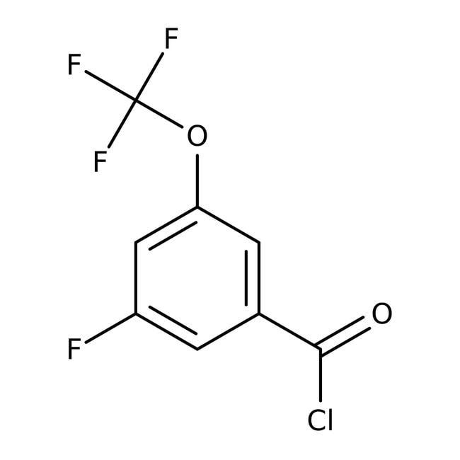 Alfa Aesar™3-Fluor-5-(pentafluorthio)benzoylchlorid, 97% 250mg Alfa Aesar™3-Fluor-5-(pentafluorthio)benzoylchlorid, 97%